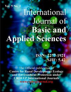 ISSN: 2277-1921; SJIF Impact Factor: 5.42;